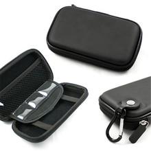 112009 Hot Selling Shockproof Black PU Camera Bag Case for Camera GPS Phone