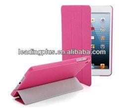Hot sale for Ipad mini smart cover ,smart cover for Ipad mini with 4 folding fuction