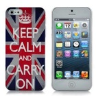 Fashion Retro UK Flag Hard Case for iPhone 5S/5C Case Cover