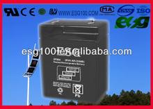 6v 4AH UPS battery sla battery security systems battery