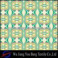 Imprimés couleur arc en ciel de soie tissu robe de mousseline/multi couleur