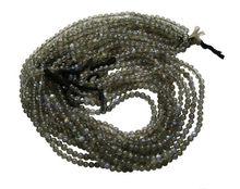 Labradorite Blue fire plain beads strand