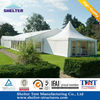 Beijing garden gazebo tent with roof with sidewalls set up on any grond grass dirt
