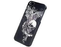 Skull plastic shell matte hard case for iphone 5c