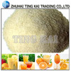 Powder gelatin edible material