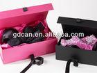 Design bra and underwear organizer packaging design box