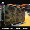 Haobo Beautiful Green Polished Slab Marble Flooring Pictures
