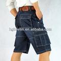 เสื้อผ้าขายส่งนิวยอร์กแฟชั่นรูปแบบในช่วงฤดูร้อนบุรุษกางเกงขาสั้นผ้ายีนส์