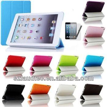 Tri-Fold Slim Smart Magnetic Cover Case for Apple iPad Mini Sleep Wake