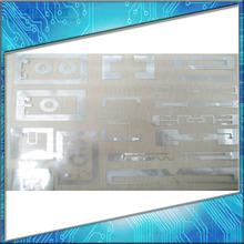 PVC/ PET/ABC/paper uhf rfid windshield tag