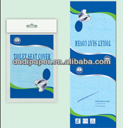 travel packing paper toilet seat cover 18gsm