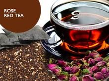 rose red tea-flower tea