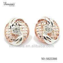 Fancy sindian polki and jhumka earring jewellery