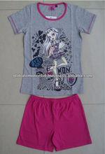 children clothing set, high quality summer clothing set