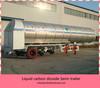 Tri-axle liquid carbon dioxide semi-trailer from China