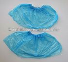 Disposable blue waterproof, cheap and convenient CPE PE shoe cover
