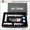 new model electronic cigarette M1 Tank, shenzhen factory promotion, accept paypal