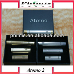 E-cig New arrived mechanical vv mod clone atomo 2 with reasonable price