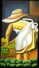 pintura sombreruda con mangos