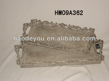 antique resin tray
