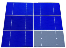 A grade 3x6 polycrystalline solar cells for DIY solar panel