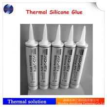 Thermal RTV silicone glue