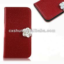 Luxury Folio Fresh PU Leather Case for Galaxy S4 I9500