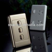 British / American / Australia / European / Italian Standard Wall Switch led wall dimmer switch