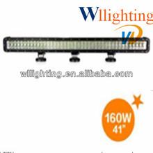 8.5 INCH 160w 16 x 10W CREE LED Work Light Bar 12V 24V ATV 4x4 High Power SPOT BEAM SUV JEEP 4WD