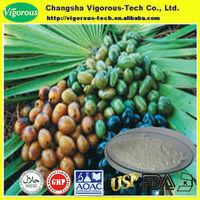 Free samples 25%~45% fatty acid saw palmetto extract powder