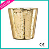 High quality cheapest tealight candle pier one mercury vase glass candle holder mercury glass votives wholesale
