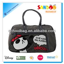 2014 adorable panda graphics overnight travel bags