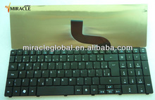 Notebook/laptop Keyboard for Acer Aspire 5800 5810 5810T 5738 layout BR