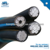 0.6/1kV 11kV Triplex Conductor 600V Secondary Type URD Cable Aluminum Conductor ABC cable
