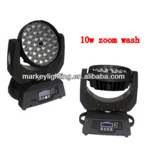 36*4in1 10w led wash zoom decoration for bars