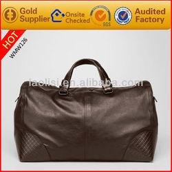 Alibaba italian designer leather overnight bag travel duffel bag