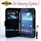 Galaxy Express 2 ii Wallet Leather Case, New Flip Leather Case for Samsung Galaxy Express ii 2