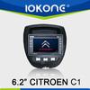 GPS navigation Touch screen Car DVD player for Citroen C1