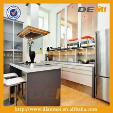paint grade kitchen cabinets white color invisible handle design