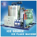 Fabricante de neve máquina para fazer gelo do floco para manga, banana de refrigeração
