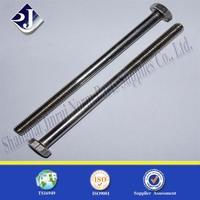 hex head thread bolt China hardware