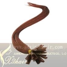 100% Brazilian Hair Extension U Tip Hair Color 33
