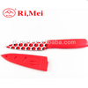 China manufacturer coloured kitchen knife with sheath