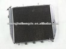 "Full aluminum radiator (1""Tubes) 2 Row For Chevy Impala 1969-1970 water heating radiator"