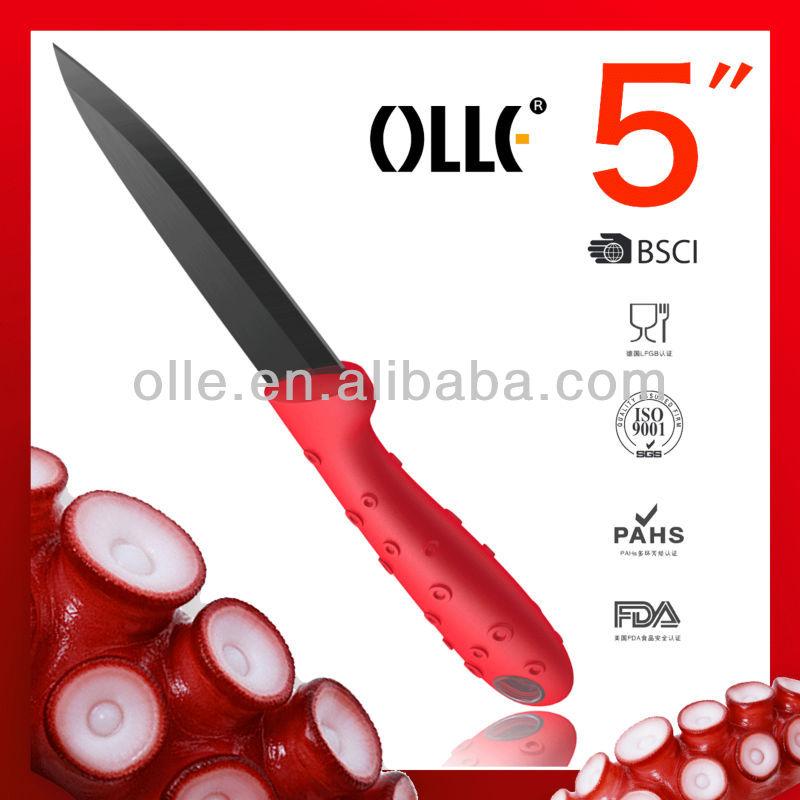 Black Blade Ceramic Utility Sharp Brand Knives