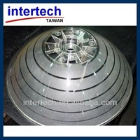 Dome plastic molding