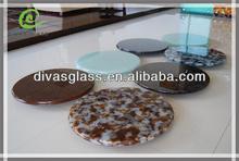 Interior decorative fusing art glass