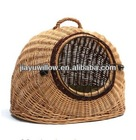 Lgloo wicker Cat bed Pet Carrier Basket House( Large)