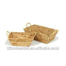Mais giacinto d'acqua paglia cestino del pane