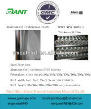 Fiberglass cloth coated aluminium foil insulation ac duct insulation